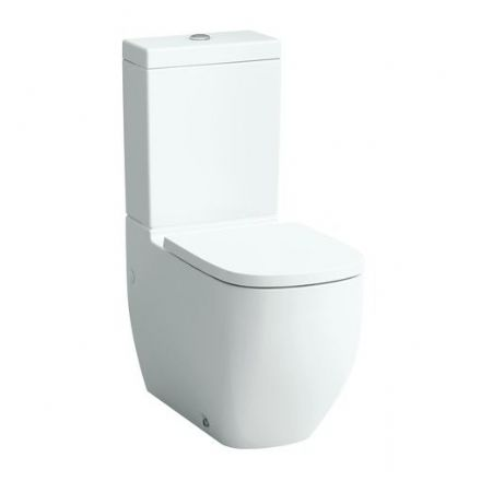 824806 - Laufen Palomba Floorstanding Close Coupled WC / Toilet - 8.2480.6